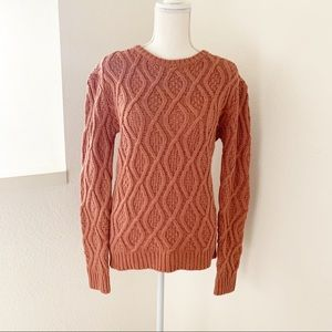Anthropologie Ruby Moon Cable Knit Sweater Size M